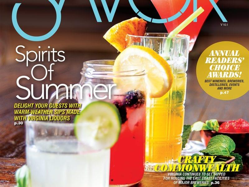 savor virginia magazine first cover