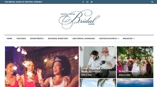 central virginia bridal guide
