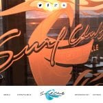 responsive website, surf club ocean grille