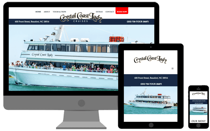 crystal coast lady boat cruises and tours north carolina