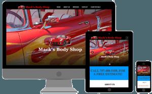 macks body shop portsmouth va