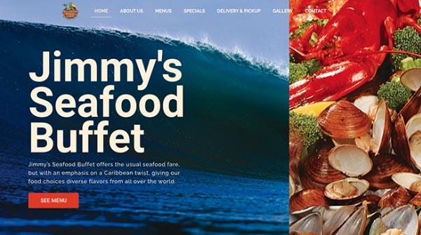 jimmys seafood buffet