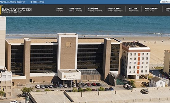 barclya towers virginia beach oceanfront hotel