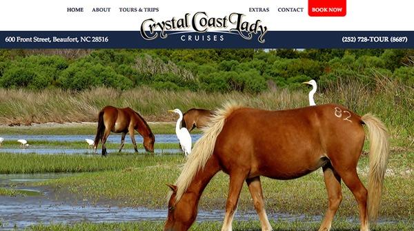 crystal coast lady boat cruises and tours north carolina
