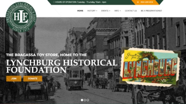 lynchburg historical foundation website