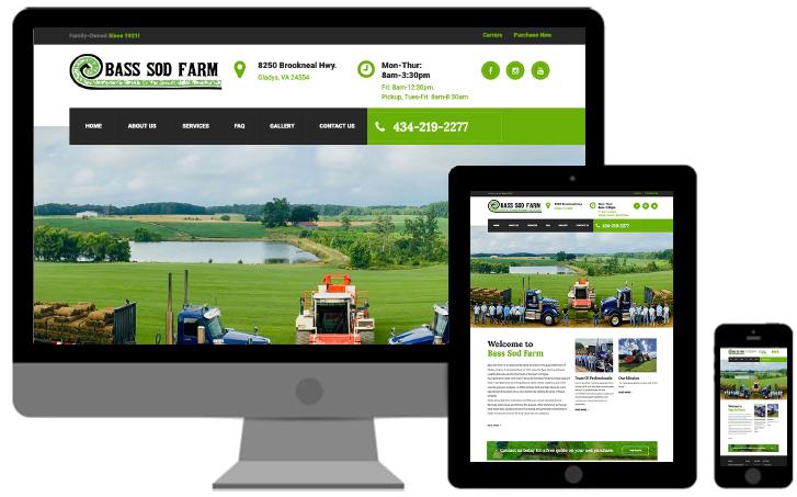 bass sod farm website