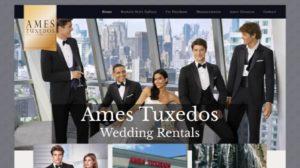 ames tuxedos website